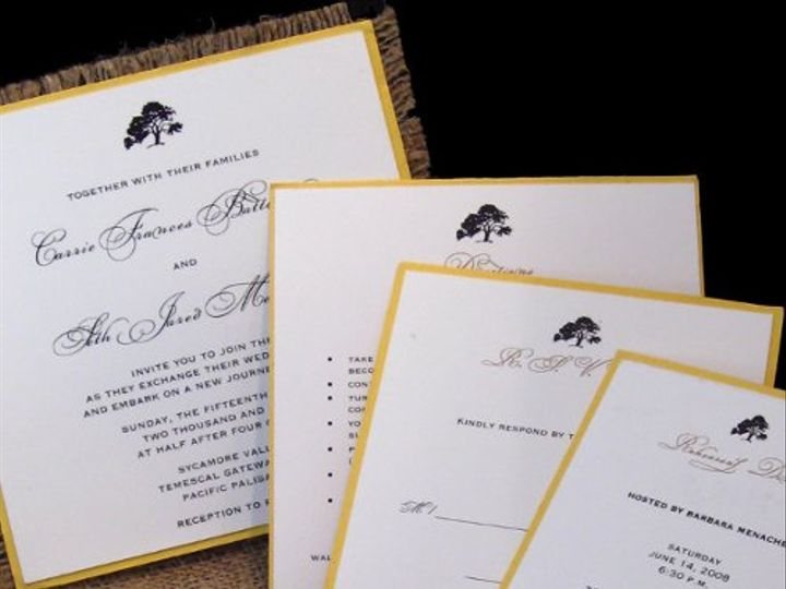 Tmx 1265274521695 INVITATIONWEDDINGBURLAPWRAPSQUARE16 Los Angeles wedding invitation