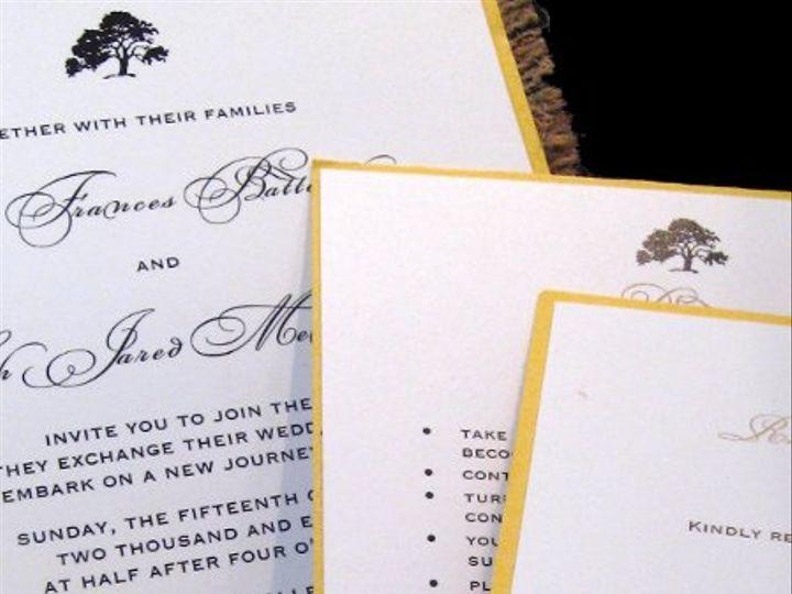 Tmx 1265274570273 INVITATIONWEDDINGBURLAPWRAPSQUARE18 Los Angeles wedding invitation