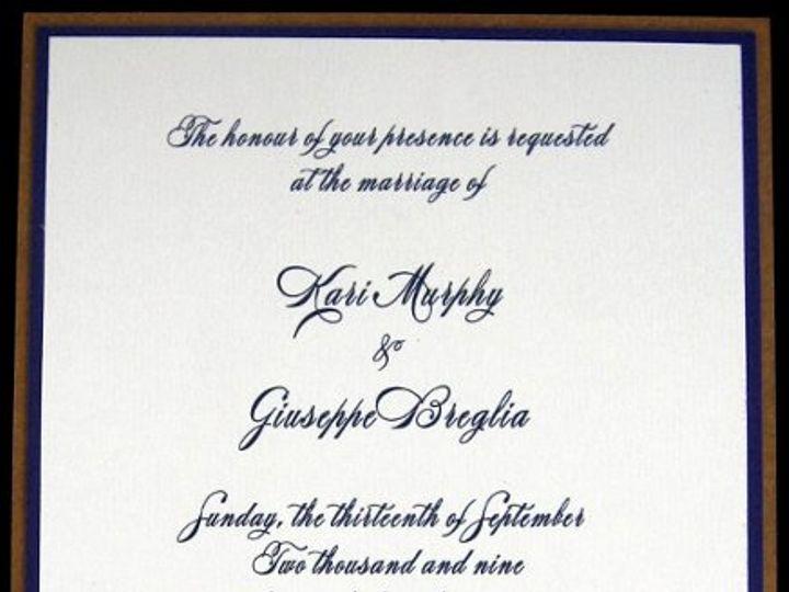 Tmx 1265274629148 INVITATIONWEDDINGGRAPEBORDEREXTRATHICKKRAFT1.5 Los Angeles wedding invitation