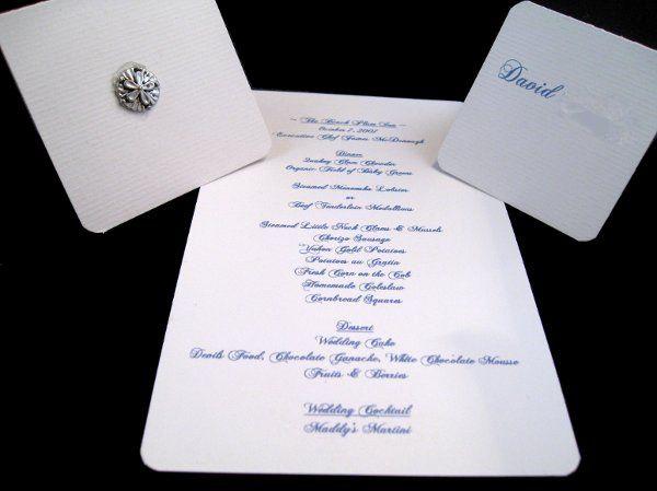 Tmx 1265274888632 INVITATIONWEDDINGHANDMADEPOCKETFOLDWRAPSEASHELL12 Los Angeles wedding invitation