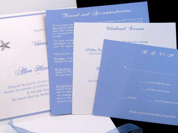 Tmx 1265274966070 INVITATIONWEDDINGHANDMADEPOCKETFOLDWRAPSEASHELL6 Los Angeles wedding invitation
