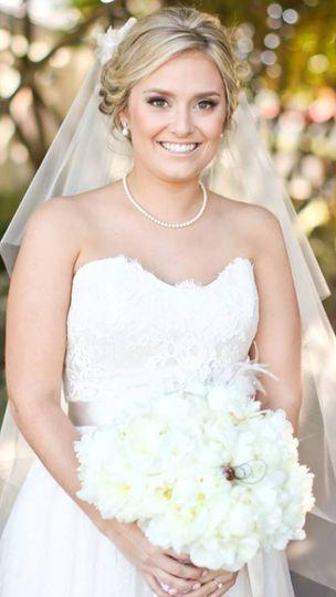 Final wedding look