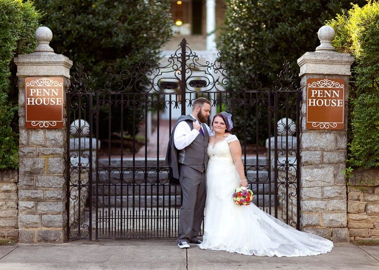 Penn House Wedding. Reidsville