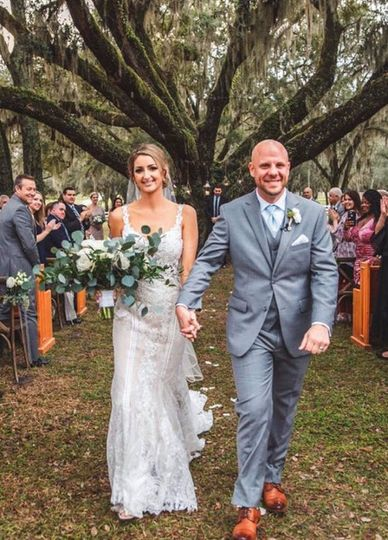 Wedding recessional | Concept Photography