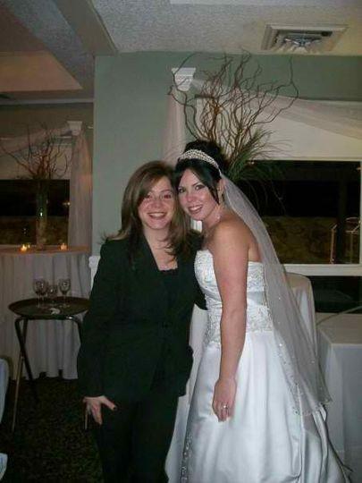 Bride with DJ