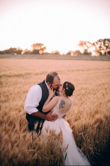 Love grows in the Wheat Field