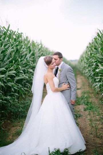 Couple in the field