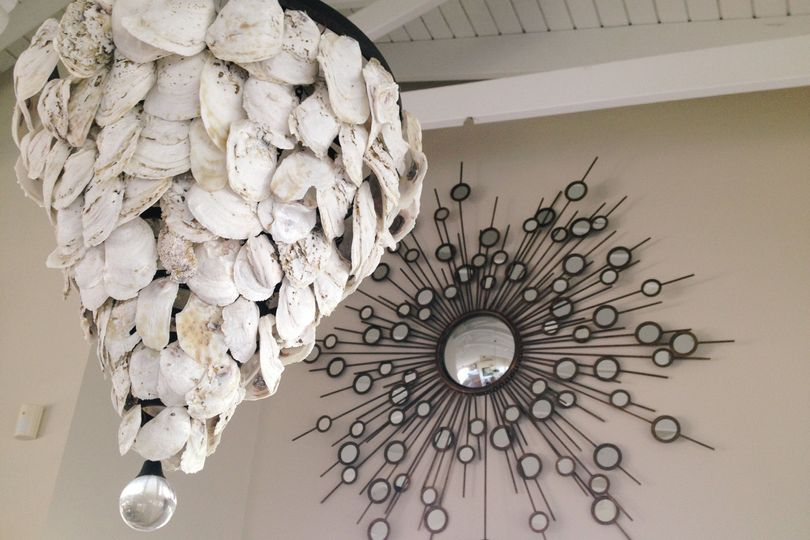 Oyster Shell Chandeliers