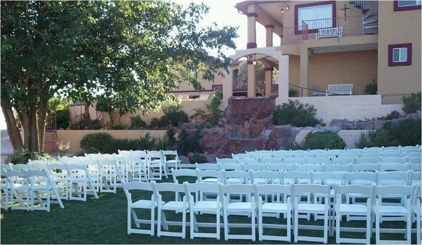 Ceremony by the waterfall option