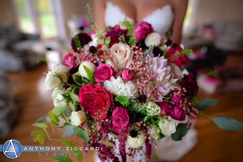 Pink Dahlia Floral Event Design Flowers Denville Nj Weddingwire
