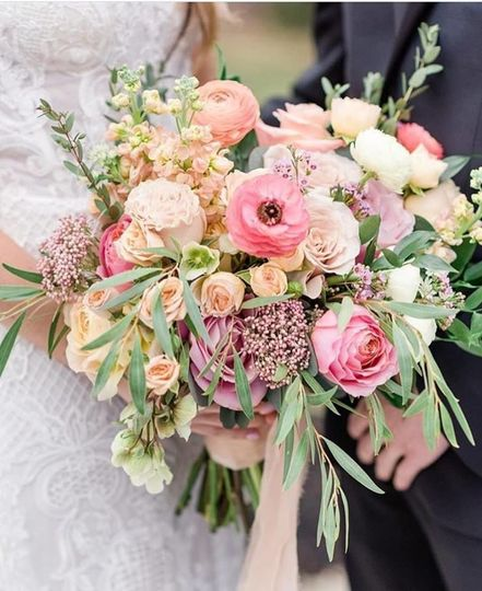 Big and pink bouquet