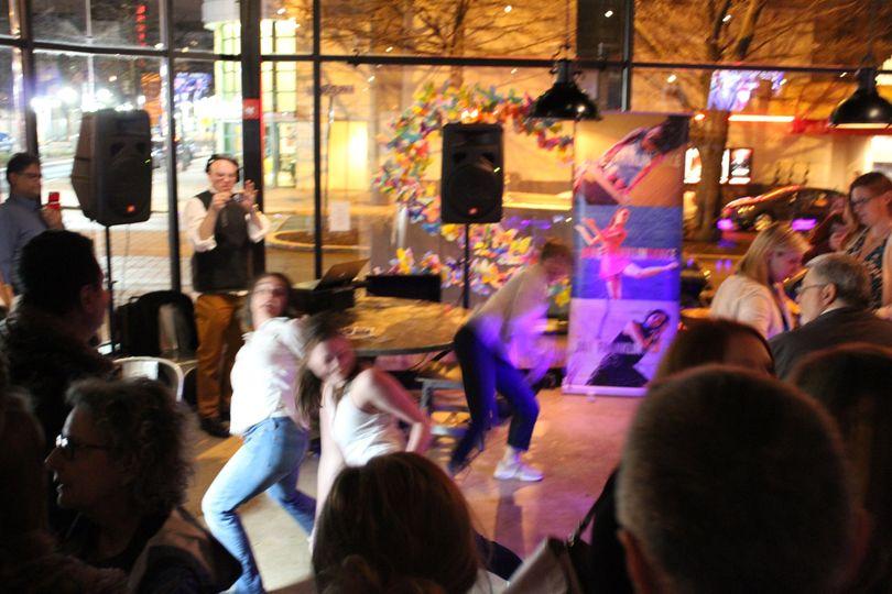 DJ + dancers