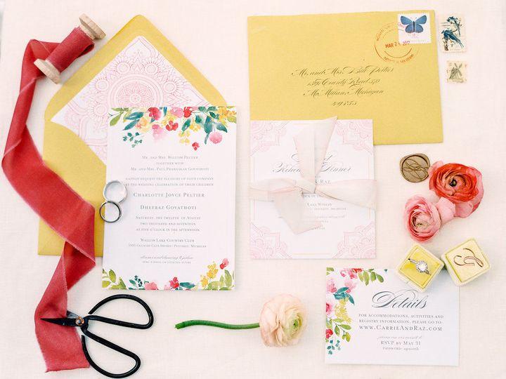Tmx 1518445036 5f800456ae15f980 1518445035 3411ef03f18b91bd 1518445029126 1 Govathoti Wedding  Brownsburg, IN wedding invitation