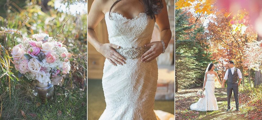 Wedding day detail photos.  MN Fall wedding in parents back yard.  Photo by Brio Art Photography  |...