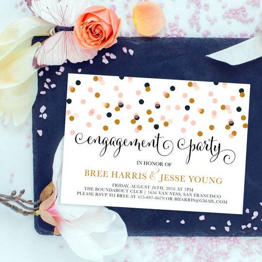 Bree Engagement Party Invites