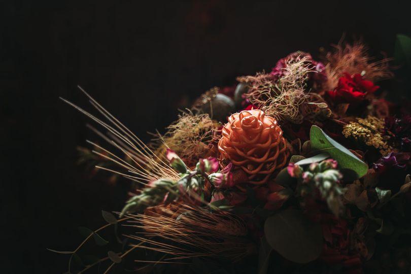 Brewery wedding bouquet