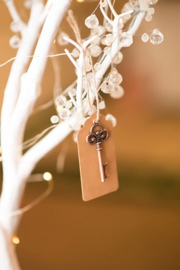Key on the branch