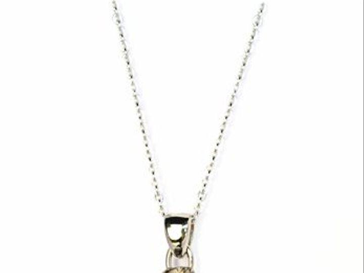 Tmx 1284453167518 PolishedSilverNecklace Los Angeles wedding jewelry