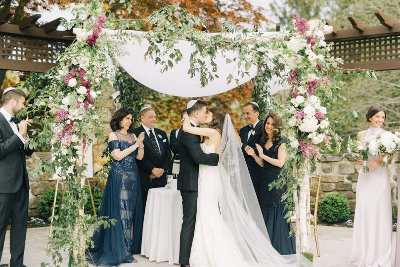 Birch pole Chuppah