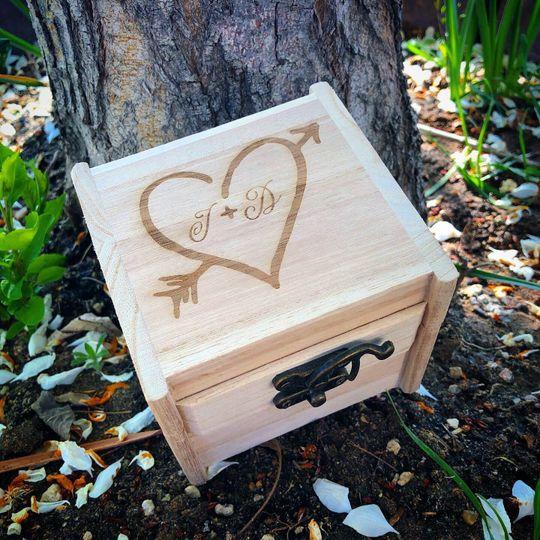 Ring-bearer box