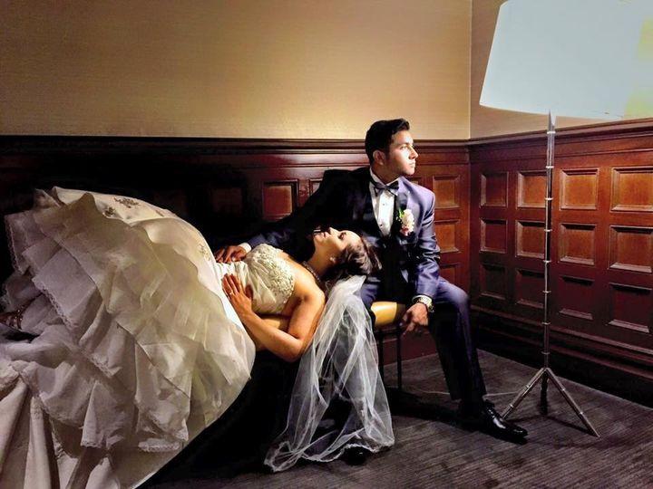 Resting bride