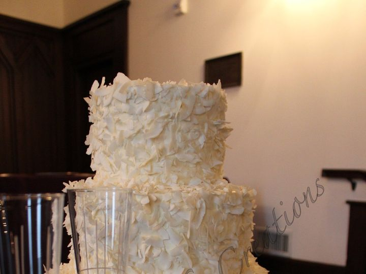 Tmx 1378780651071 Rszcoconutweddingcake Fuquay Varina, North Carolina wedding cake