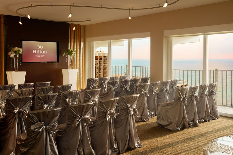 Hilton Waikiki Beach: Altitude @ 37 is a special room providing panoramic views for your intimate...