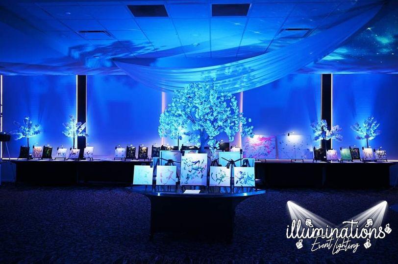 Event Gala Up-Lighting