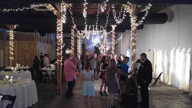 Wedding party area