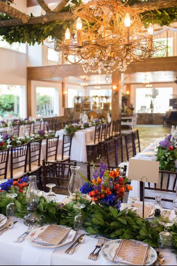 Custom Table/Lighting/Flower Arrangements