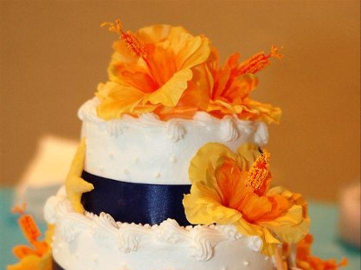 Tmx 1321206719718 BeachThemeCake5 Jacksonville, FL wedding cake
