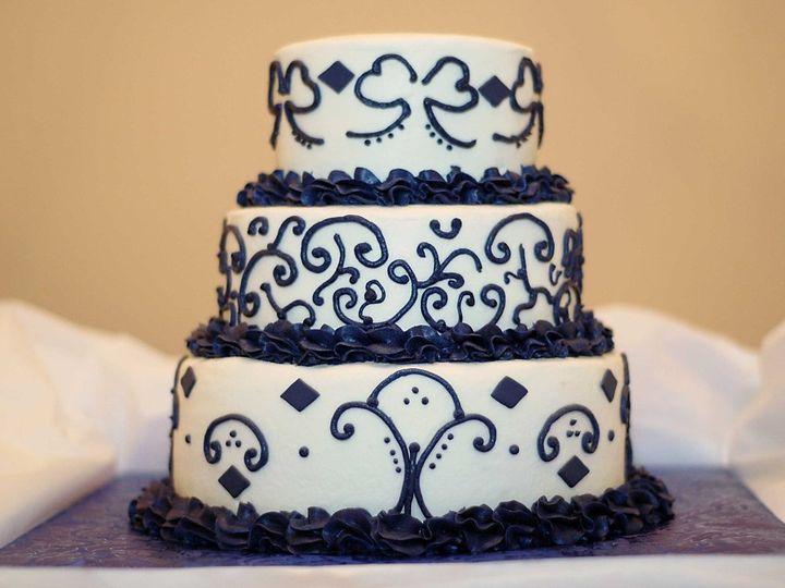 Tmx 1355770362318 DSC1447 Jacksonville, FL wedding cake
