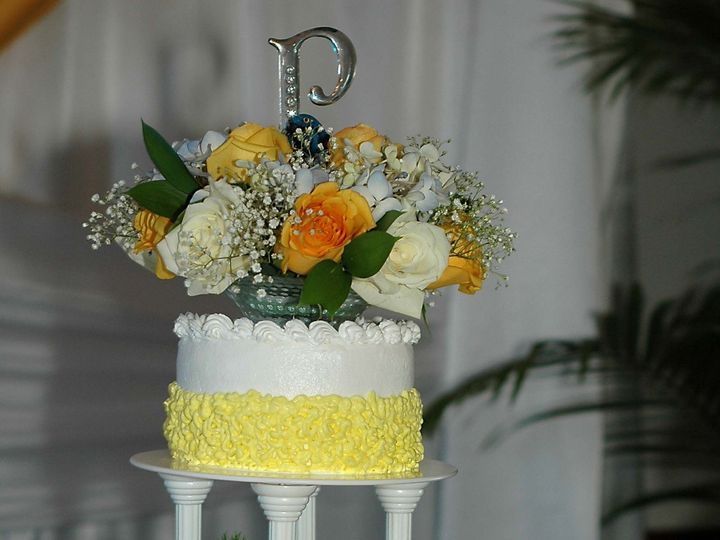 Tmx 1372083084536 Yellowsunshine Cake Jacksonville wedding cake