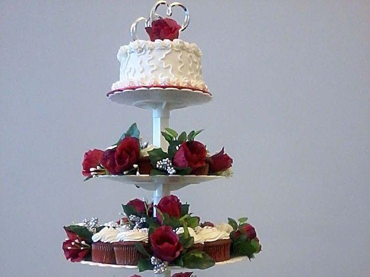 Tmx 1397761533521 Red Velvet Cupcakes Jacksonville, FL wedding cake