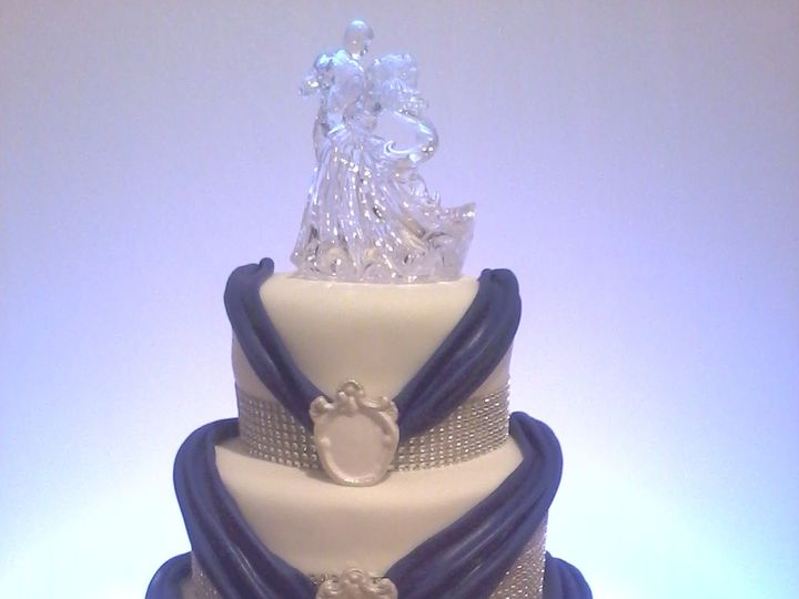 Tmx 1426300951313 Purple Elegance Jacksonville wedding cake