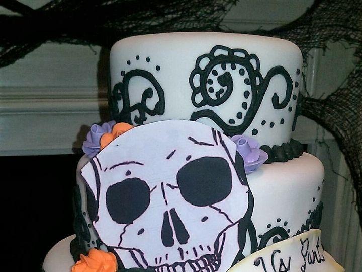 Tmx 1477605516466 Skull8 Jacksonville, FL wedding cake