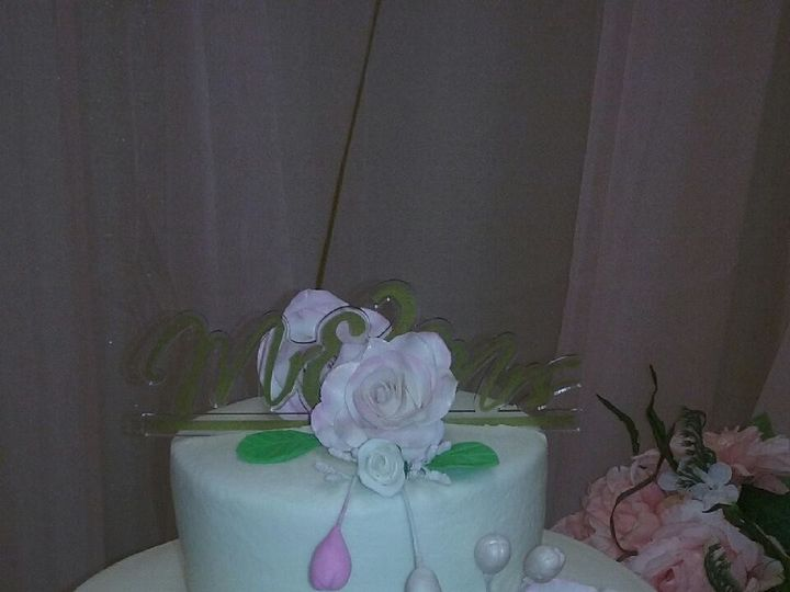Tmx 1504400060152 Mr And Mrs2 Jacksonville wedding cake