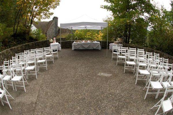 Wedding ceremony settingCo