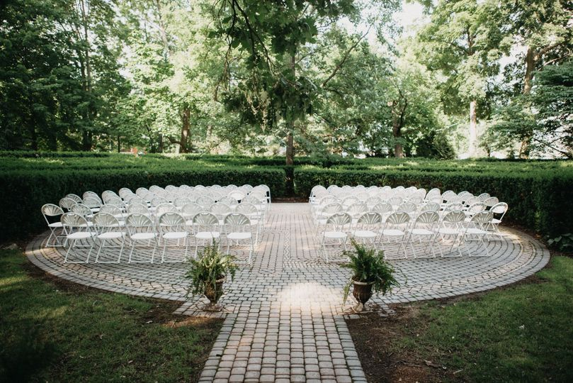 Ceremony on the labyrinth