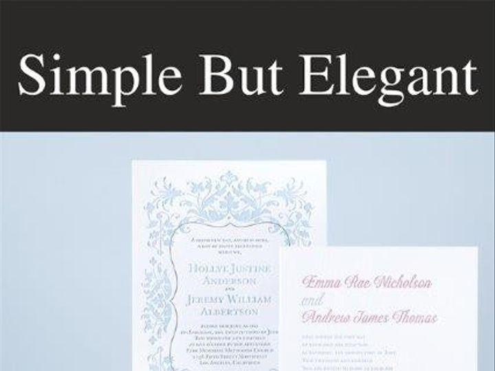 Tmx 1417100686276 Simpleb Union, KY wedding invitation