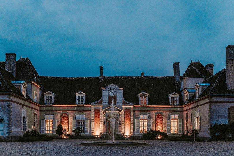 Château by night