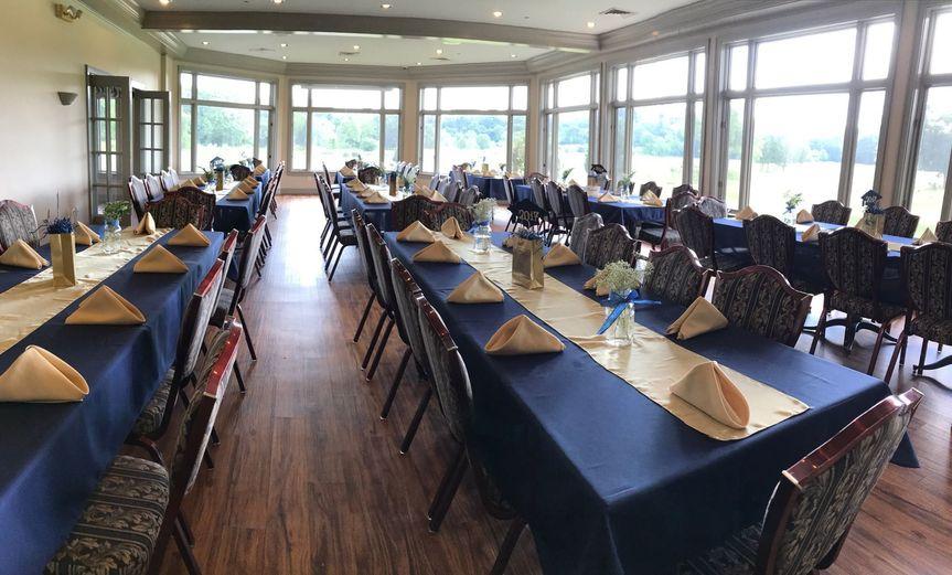 Banquet indoors