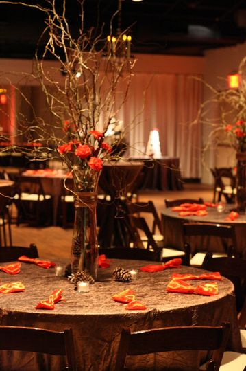 A sample of our Wedding Table Set-up. This one is from Noah Liff Opera Center where TFM is a...
