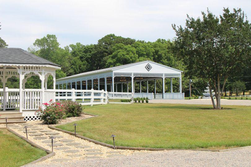 Approaching Pavilion