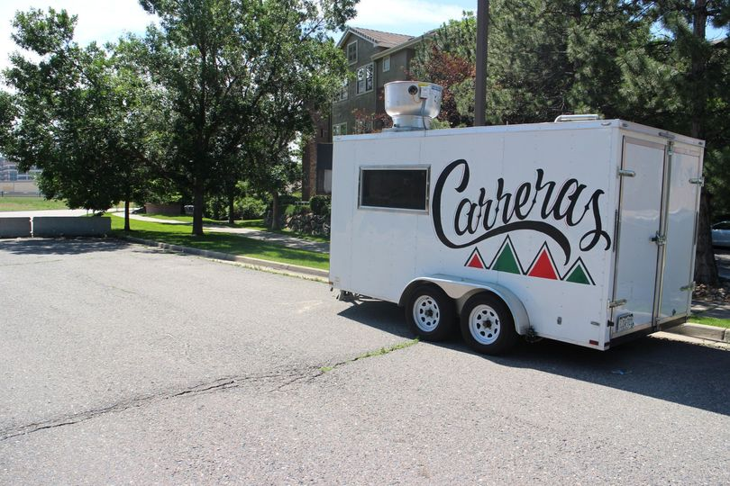 Food trailer for 14ft