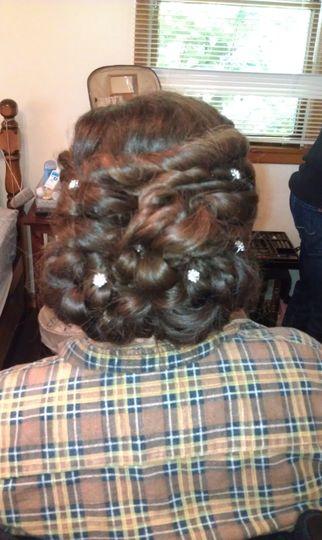 All braided bun