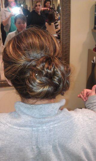 Twisted bun