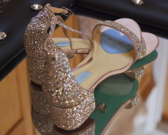 Bridal shoes (Jess Killen It Photography)