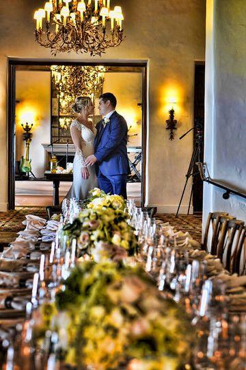 First look at long feasting table at the Four Seasons Santa Barbara