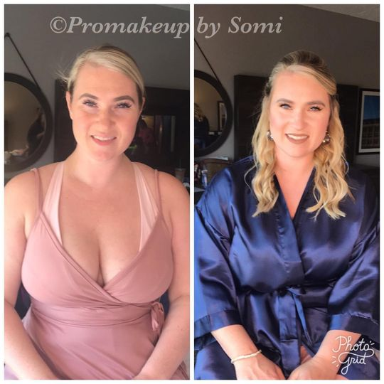 Pro makeup by Somi